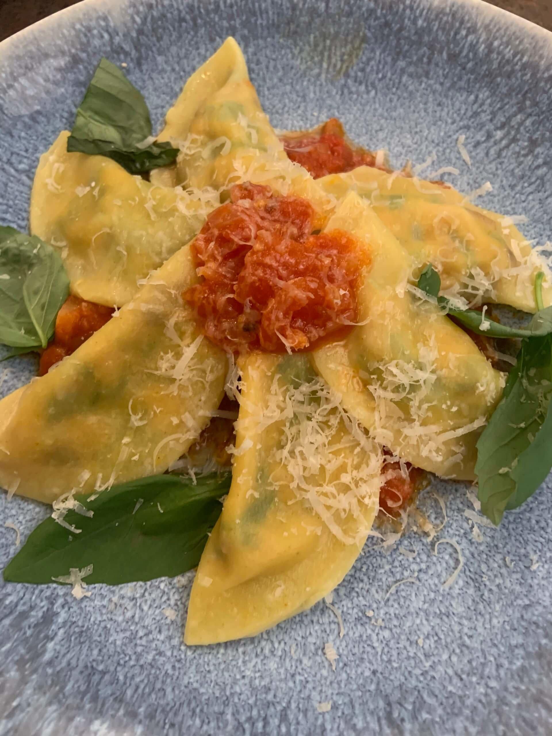 Online Kochen Ravioli selber machen