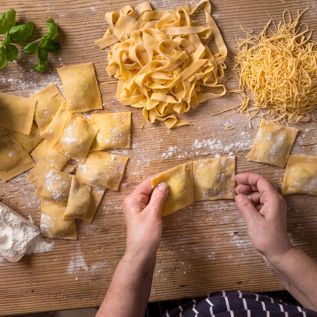 Online Kochkurs: Pasta